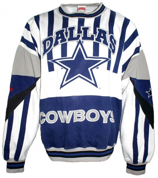 Nutmeg Dallas Cowboys Sweatshirt NFL American Football men's XL