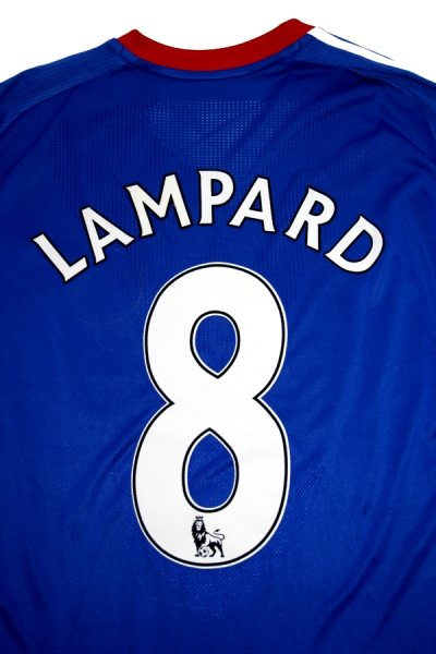 Adidas FC Chelsea jersey 8 Frank Lampard 2010/11 home Samsung match worn shirt blue men's L