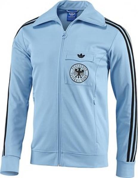 Deutschland 1974 Jacke Tt Blau Adidas Originals Trainings Wm OTXuZPki