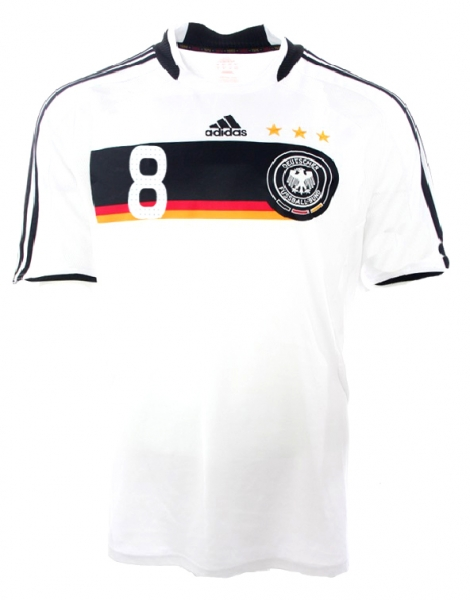Adidas Germany jersey 8 Thorsten Frings 2008 Euro 08 Portugal men's XL