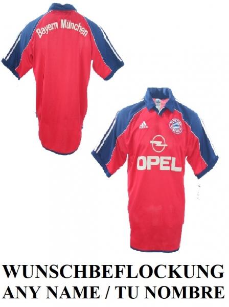 Adidas FC Bayern Munich jersey 1999/2001 Opel home red men's S/M/L ...