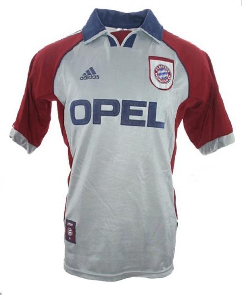 Adidas FC Bayern Munich jersey CL Final 1999 Opel men's S/M/L/XL ...