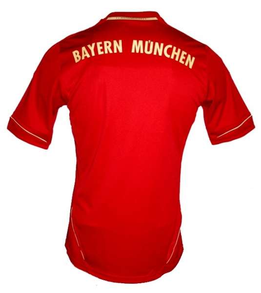 Adidas FC Bayern Munich jersey 2011/2012/2013 CL red gold men's L (B-stock)