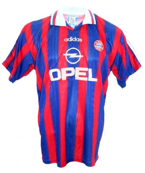 Adidas FC Bayern München Trikot 199596 + Hose Opel Herren M