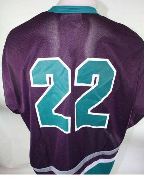 Campri Anaheim Mighty Ducks Jersey 22 Luis Mendoza NHL Away Mens - XL