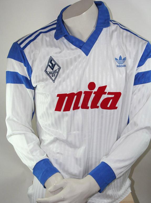 Waldhof Mannheim Adidas Trikot mita Größe XL 1988 89