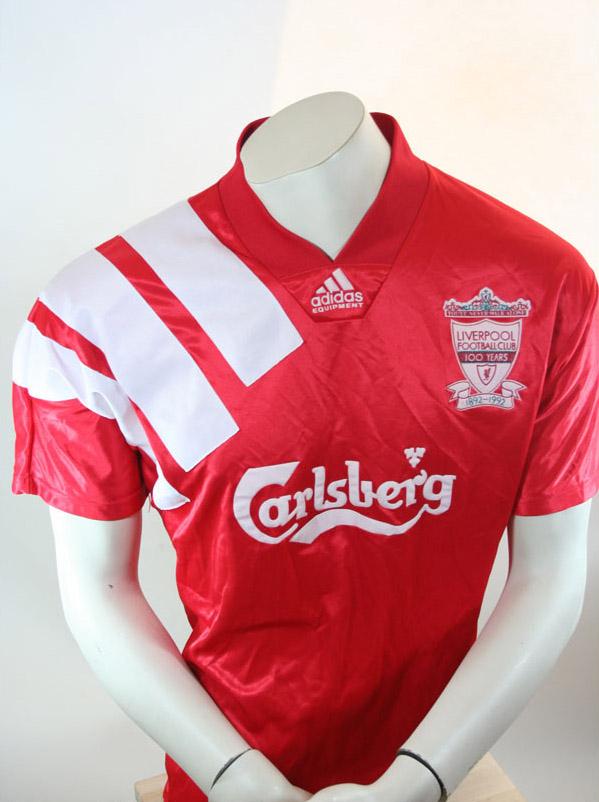 senor camiseta 199293 Carlsberg FC Adidas Liverpool rojo S KTl1JFc