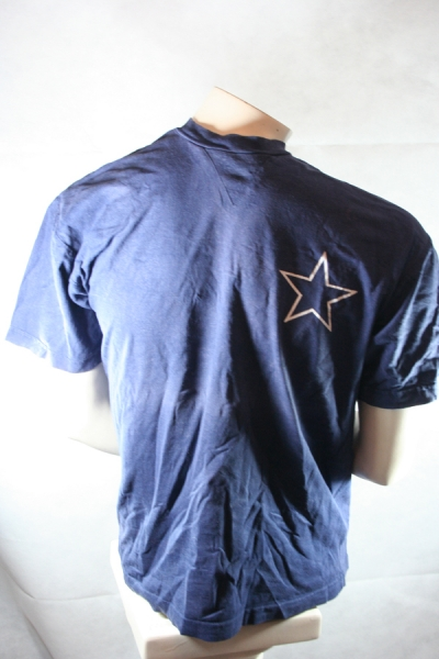 Dallas Cowboys Jersey T-shirt NFL American Football Name Number 00 - M