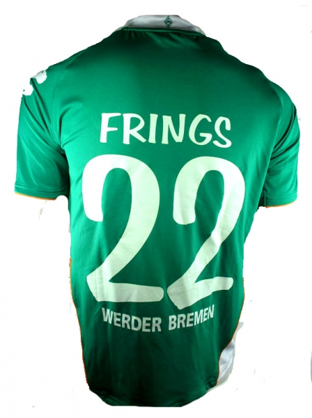 Kappa SV Werder Bremen jersey 22 Thorsten Frings 2007/08 Citibank shorts socks men's S