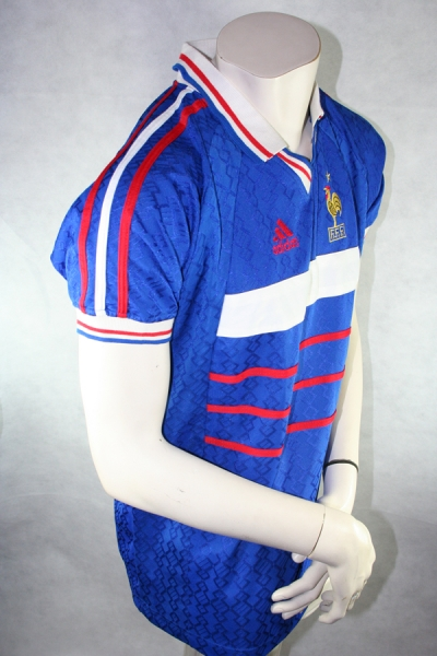 Adidas France Jersey 5 Laurent Blanc 1988 home men's Large