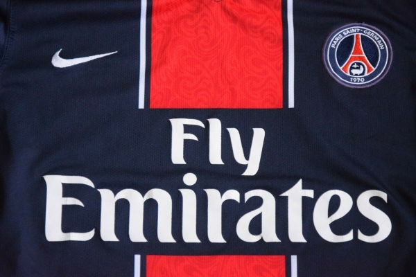 Nike PSG Paris St. Germain jersey 2007/08 Fly Emirates women/kids 158cm - 170cm youth XL