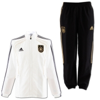Adidas Germany training jacket suit DFB Tracksuit World Cup 2010 men's M (6)