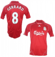 Adidas FC Liverpool jersey 8 Steven Gerrard 2006-08 this is anfield home men's M, XL or XXL/2XL