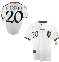Adidas Germany jersey 1996 Euro 96 20 Bierhoff match worn Mens XL/XXL