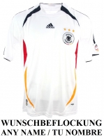 Adidas Germany jersey World Cup 2006 home DfB white men's S/M/L/XL/XXL