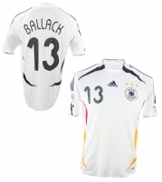 Adidas germany jersey 13 Michael Ballack World cup 2006 home men's S XL XXL or 176cm
