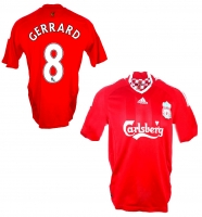 Adidas FC Liverpool jersey 8 Steven Gerrard 2008-10 This is anfield home red men's M or XL