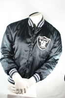 Chalk Line Los Angeles Raiders College Jacket jersey black NFL mens L
