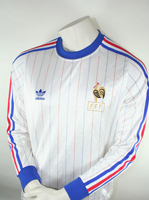 Adidas France jersey 1982 -86 world cup white home men's S or L