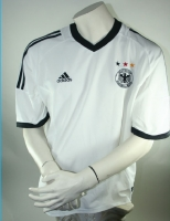 Adidas Germany jersey World Cup 2002 white home men's 176cm/XS/S/L/XL