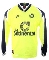 Nike Borussia Dortmund Jersey 1995/96 Continentale BVB Home men's L