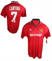 Umbro Manchester United jersey 7 Eric Cantona 1994/95 matchworn sharp men's XL